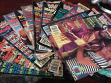 WWE WWF Magazine Full Set Complete Year 1991 Jan - Dec Bundle Joblot