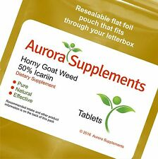 60 Tabs Horny Goat Weed 50% Icariin Extract For Improved Sexual Functions