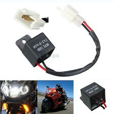 2-Pin Electronic Flasher Relay FIX Motorcycle Turn Signal Lights Hyper Flash
