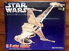 AMT LIMITED EDITION STAR WARS B-WING FIGHTER MODEL KIT  # 08780 FACTORY SEALED