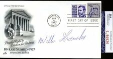 WILLIE SHOEMAKER JSA AUTHENTICATED AUTOGRAPH 1977 FDC SIGNED