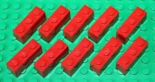 Lego Red Brick 1x3 10 pieces NEW!!!