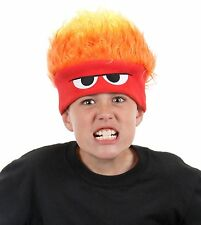 Anger Hat Disney Pixar Inside Out Child Kids Adult Light Up Costume Beanie Cap