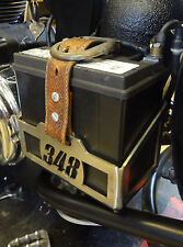 Custom Motorcycle Chopper Bobber Cafe Racer Battery Box Tray MADE TO ORDER