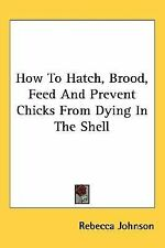 How to Hatch, Brood, Feed and Prevent Chicks from Dying in the Shell by...