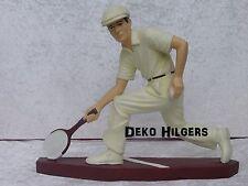 Tennisspieler Spieler Figur Werbefigur Statue Dekoration Tennis Skulptur  NEU