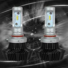 2pc 8000LM 9005 9145 Headlamp High Beam Conversion Kit LED Bulb White BroView S7