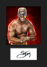 STING #1 (WWE) Signed Photo A5 Mounted Print - FREE DELIVERY