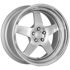 18X9.5 +30 Klutch SL5 5x100 Silver Machined RIM Fits Matrix Audi Tt Lexus Ct200H