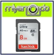 SanDisk Ultra 8GB SDHC Memory Card