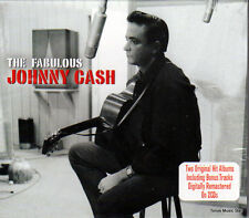 THE FABULOUS JOHNNY CASH - SONGS THAT MADE HIM FAMOUS (NEW SEALED 2CD)