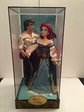 DISNEY STORE EXCL LE ARIEL & PRINCE ERIC FAIRYTALE DESIGNER COLLECTION 1735/6000