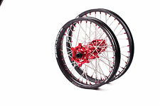 SM PRO PLATINUM MOTOCROSS WHEEL SET HONDA CR CRF CRFX FRONT 21X1.60 REAR 19X1.85