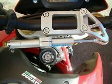 Ducabike Ohlins Steering Damper Mounting Kit Ducati Hypermotard 1100 Silver