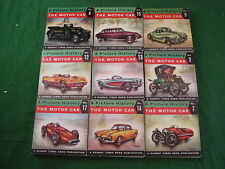 A Picture History Of The Motor Car Set Of 18 Small Books RD3275