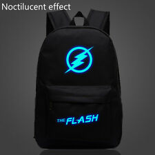 "18"" Noctilucent The Flash Backpack for Boys Girls Teenagers Sport School Bags"