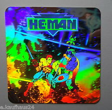 Aufkleber Mattel MotU HE-MAN Masters of the Universe HOLOGRAMM 3D Sticker Decal