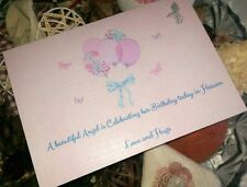 BIRTHDAY CARD FOR ANGEL IN HEAVEN - LOSS OF CHILD - BIRTHDAY REMEMBERANCE