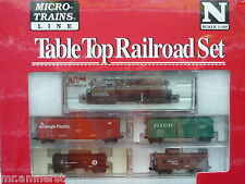 Canadian Pacific Atlas RS-3 #8441 N Scale Micro-Trains Table Top Set NIB