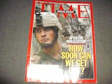 Time Magazine - SPECIAL REPORT - How Soon Can We Get Out? January 31, 2005*