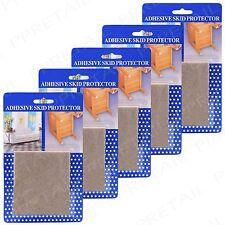 30 X calidad Suelo de grandes dimensiones protección Fieltro almohadillas de madera de roble laminado Mesa Silla Pies