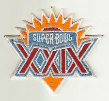 1995 Super Bowl XXIX patch SF 49ers vs SD Chargers SB 29 San Francisco Young MVP