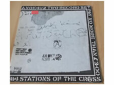 Crass ‎– Stations Of The Crass - 2 LP-  Foldout Poster Sleeve