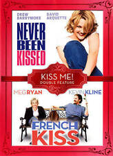 Never Been Kissed/French Kiss (DVD, 2014, 2-Disc Set) Kiss Me Double Feature