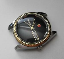 VINTAGE SWISS RADO VOYAGER 17 JEWEL STAINLESS AUTOMATIC GENTS WATCH SPARE REPAIR
