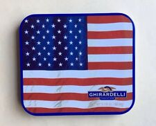 Collectible 2012 GHIRARDELLI Chocolate SQUARES Hinged Empty Tin Box