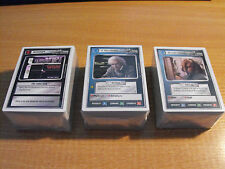 STAR TREK CCG WHITE BORDER PREMIERE BETA MASTER SET