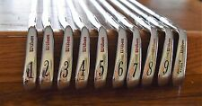 Rare RH Wilson Staff RG200 Forged Iron set 1-PW S400 New Cords Excellent