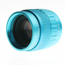 CCTV 35mm f1.7 Lens C Mount For Sony NEX-5 NEX-3 NEX-7 NEX-5C NEX-C3 NEX-5N BLUE