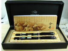 Jinhao Seashell Embossment Fountain Pen Roller Pen Original Gift Box Set