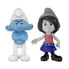 The Smurfs Grab Ems 2-Pack Wave #1 Smurfetee & Painter 100% Brand New