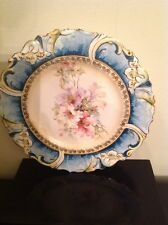 "Germany Saxe Altenburg China - Beautiful Vintage Plate - Rare Collectible 9""EUC"