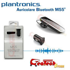 Auricolare Plantronics® M55 Bluetooth 3.0 Certificato Apple iPhone 5s Multipoint