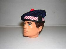 Banjoman 1:6 Scale Custom Made Argyll Balmoral Bonnet For Vintage Action Man