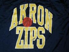 Vintage Akron Zips warm up basketball jersey NCAA  RaRe TEAM ISSUED 80's sz. 44