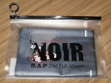 B.A.P BAP NOIR 2ND FULL ALBUM SHOWCASE OFFICIAL GOODS SLOGAN TOWEL NEW