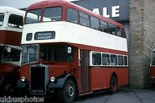 Weardale BED732C Frosterley Depot 1983 Bus Photo