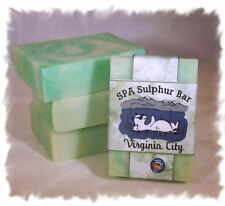 Coconut Lime Verbena_Virginia City SPA Sulphur Mineral Soap Made in Montana