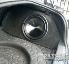 EMPTY! Toyota 86 Subaru BRZ Drivers side 10inch sub fibreglass subwoofer box