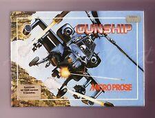 Cañonera (1987) Spectrum 48k juego Microprose-Edición Caja Grande-Completo & en muy buena condición