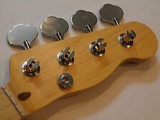 All parts Maple Neck for vintage Fender Tele/Precision Bass TBMO/finished