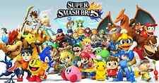 Super Smash Bro's  New - Wall  Poster  22 x 34 inch ( Fast Shipping )  15