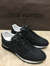LOUIS VUITTON 477339 RUN AWAY SNEAKER SHOES IN SIZE LV12 / 13 US IN BLACK *NEW*