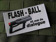 Patch Velcro -HUMOUR POLICE - FLASHBALL article fantaisie