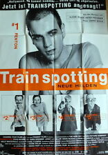 TRAINSPOTTING original Kino Plakat  A0