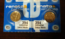 USA Authorized Seller 2 Two 394 RENATA WATCH BATTERIES SR936SW New packaging